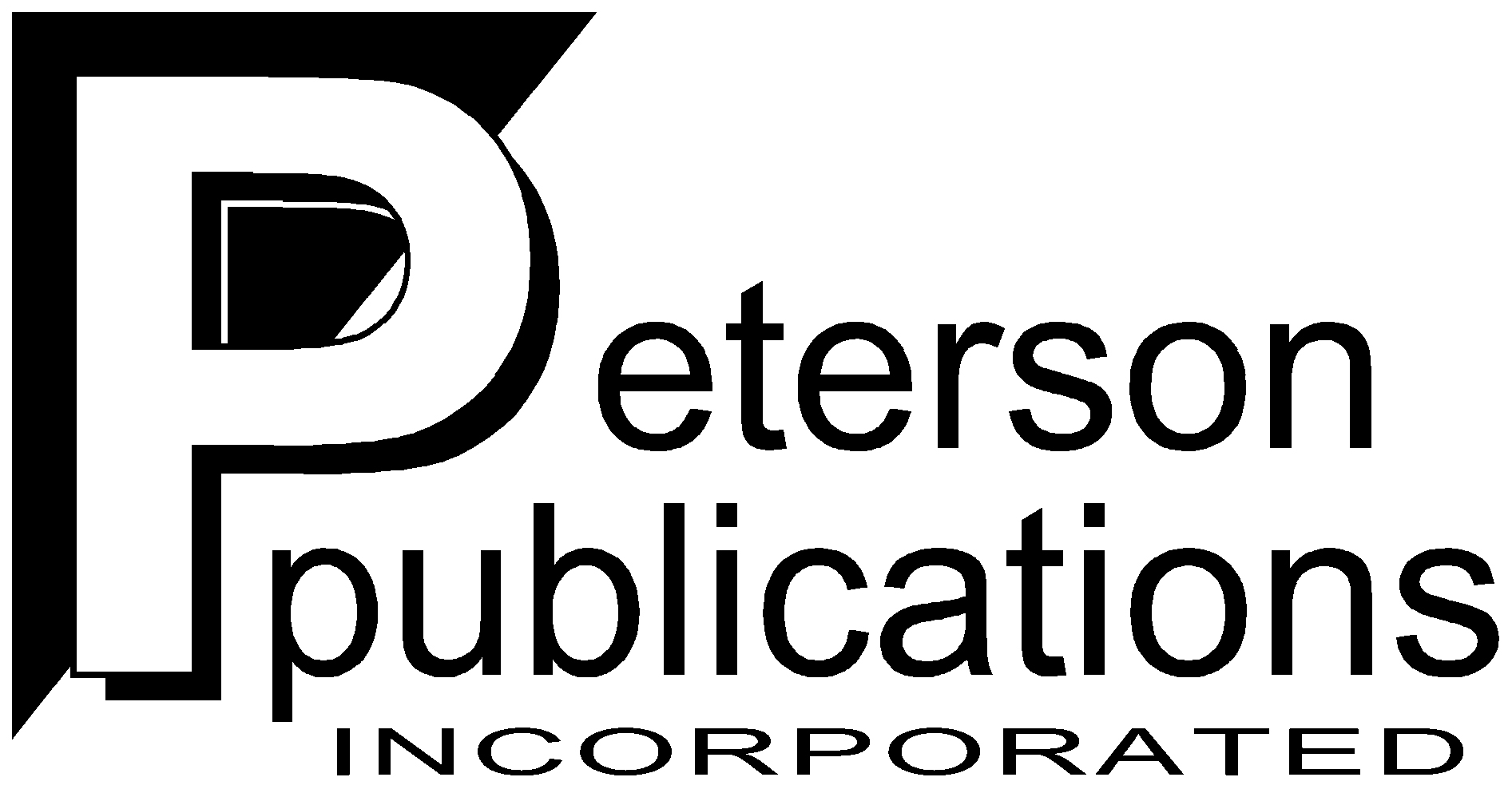 PetersonPublications bw logo